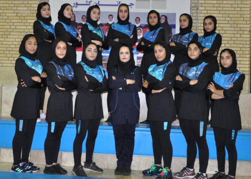 تصاویر | مسابقات کبدی جوانان دختر کشور در شیراز
