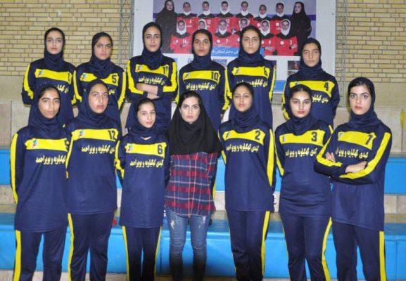 تیم کبدی کهگیلویه و بویر احمد در مسابقات جوانان دختر کشور در شیراز 577x400 تصاویر | مسابقات کبدی جوانان دختر کشور در شیراز