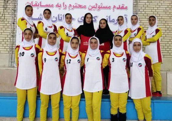 تیم کبدی گلستان در مسابقات جوانان دختر کشور در شیراز 567x400 تصاویر | مسابقات کبدی جوانان دختر کشور در شیراز