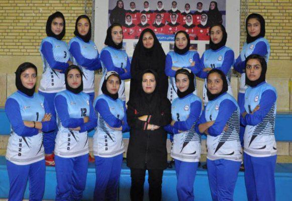 تیم کبدی یزد در مسابقات جوانان دختر کشور در شیراز 581x400 تصاویر | مسابقات کبدی جوانان دختر کشور در شیراز