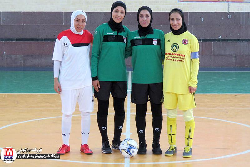 گزارش تصویری | دیدار تیم های پارس آرای شیراز و دریژنو فرخ شهر در لیگ فوتسال بانوان