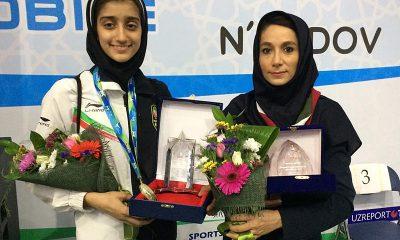 ساناز عباس پور اعظم درستی 400x240 دختران ایران قهرمان مسابقات تکواندوی نونهالان جهان شدند