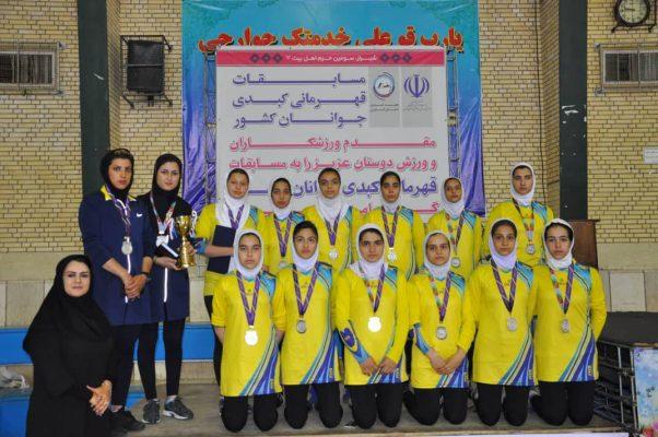 مسابقات کبدی جوانان دختر کشور در شیراز 602x400 تصاویر | مسابقات کبدی جوانان دختر کشور در شیراز