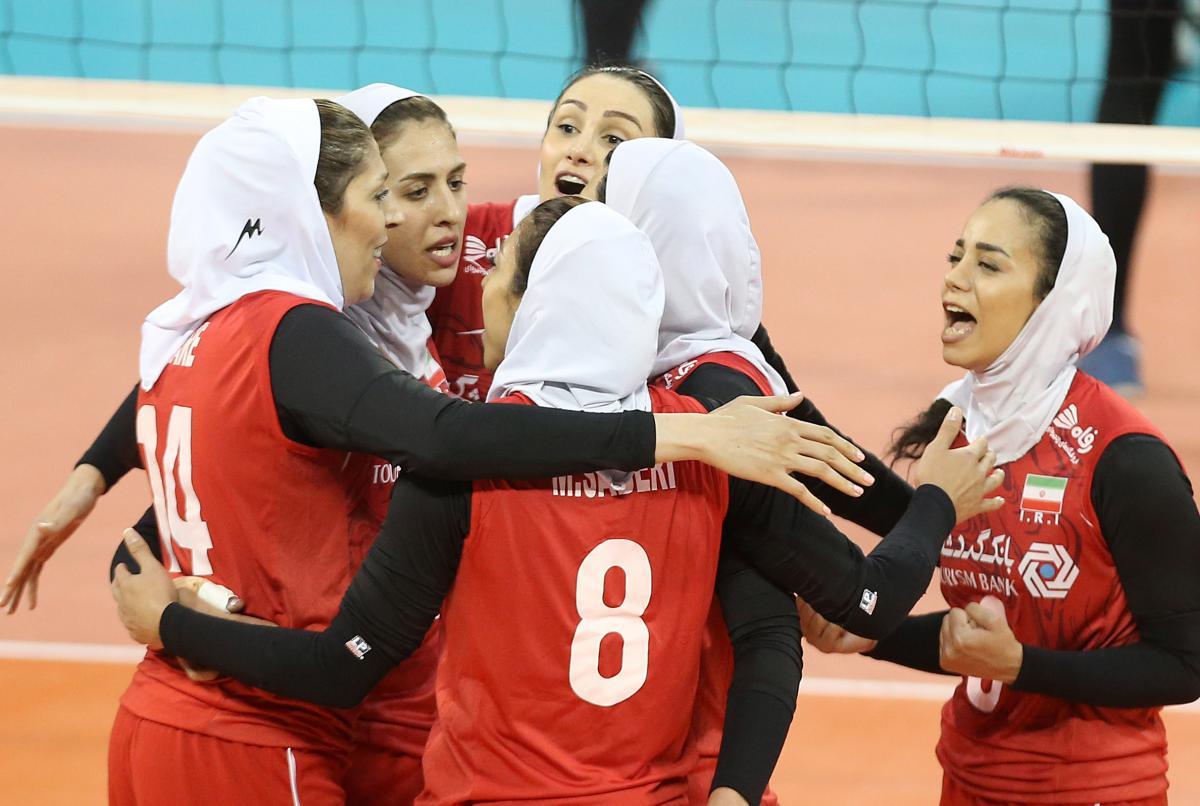 ایران ۳ اندونزی ۲ | تیم والیبال بانوان ایران هفتم آسیا شد