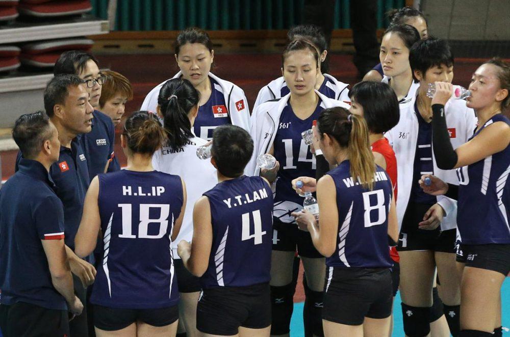 والیبال بانوان ایران و هنگ کنگ والیبال قهرمانی زنان آسیا 10 1000x662 گزارش تصویری | دیدار والیبال بانوان ایران و هنگ کنگ