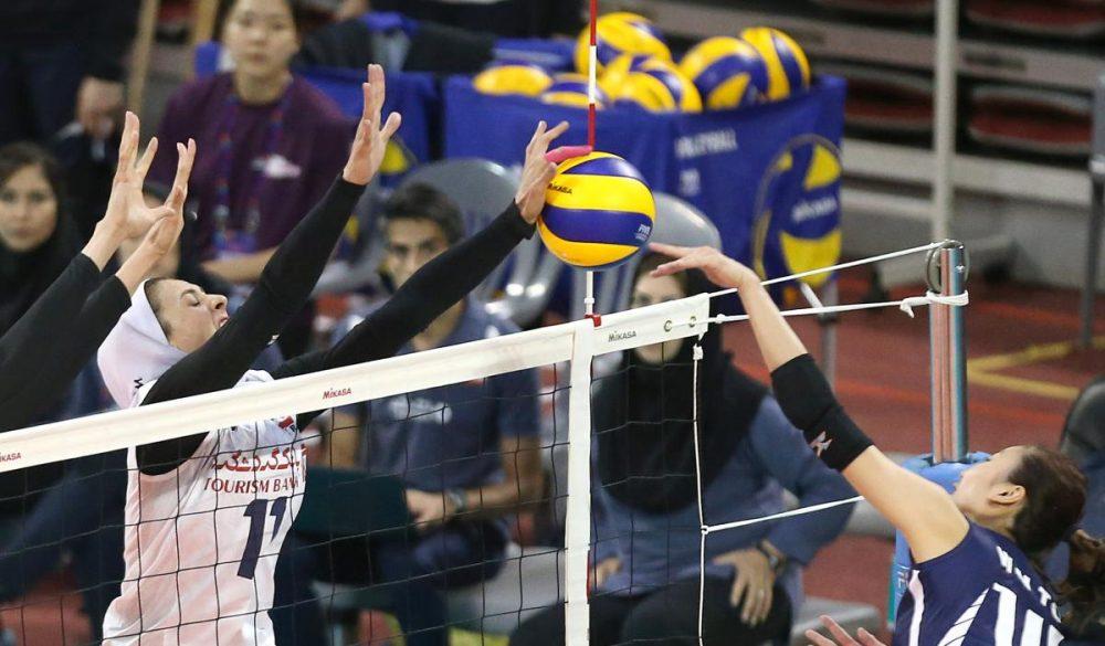 والیبال بانوان ایران و هنگ کنگ والیبال قهرمانی زنان آسیا 12 1000x585 گزارش تصویری | دیدار والیبال بانوان ایران و هنگ کنگ