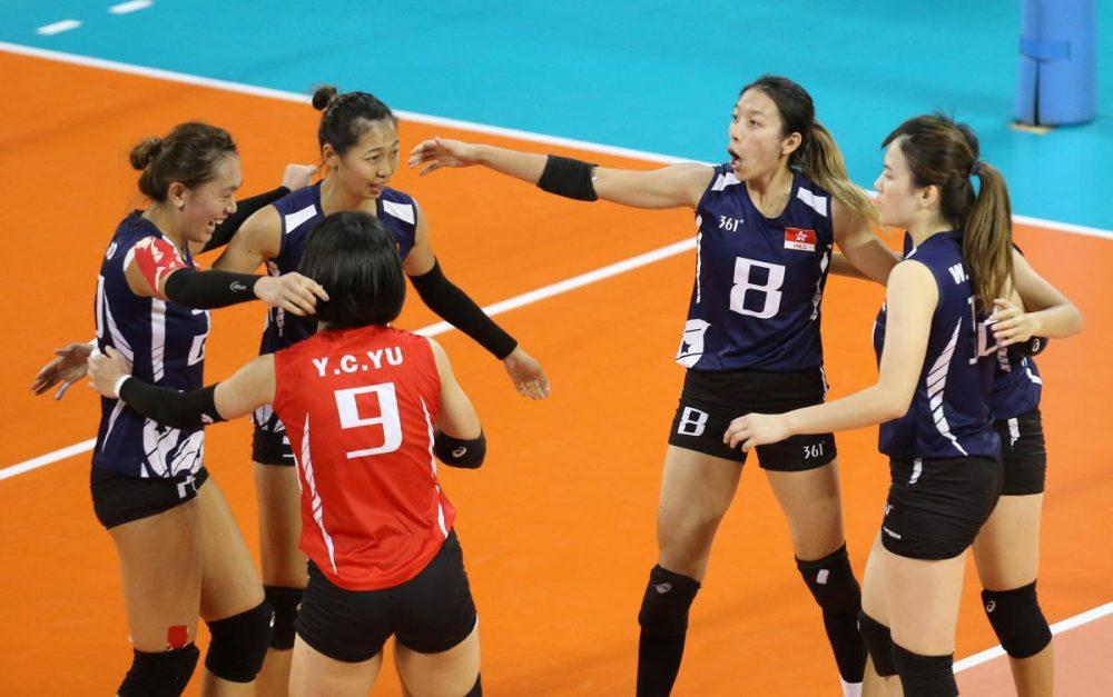 والیبال بانوان ایران و هنگ کنگ والیبال قهرمانی زنان آسیا 14 1000x627 گزارش تصویری | دیدار والیبال بانوان ایران و هنگ کنگ