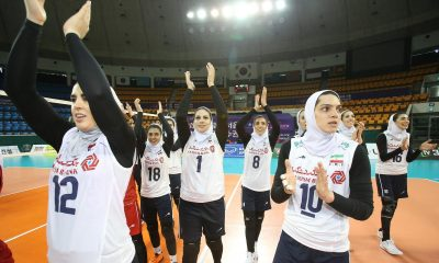 والیبال بانوان ایران و هنگ کنگ والیبال قهرمانی زنان آسیا 2 400x240 گزارش تصویری | دیدار والیبال بانوان ایران و هنگ کنگ