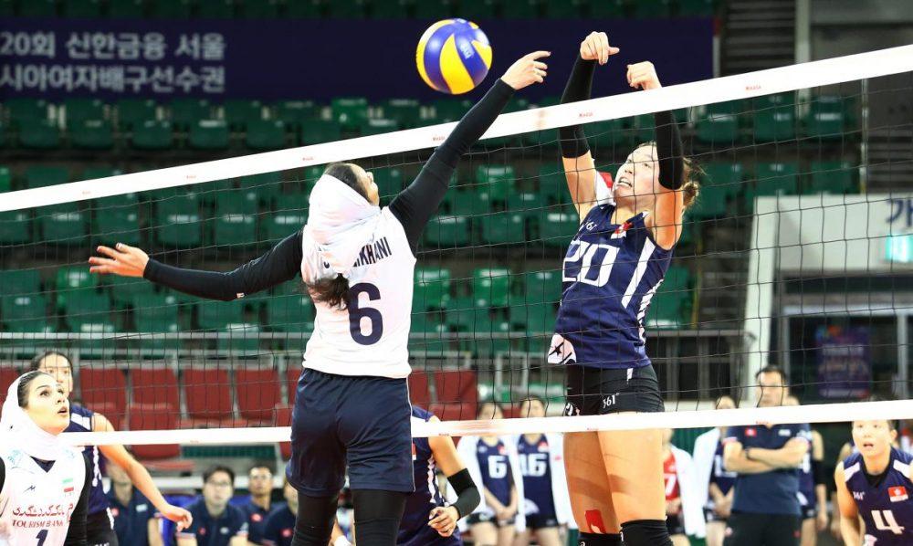 والیبال بانوان ایران و هنگ کنگ والیبال قهرمانی زنان آسیا 4 1000x598 گزارش تصویری | دیدار والیبال بانوان ایران و هنگ کنگ