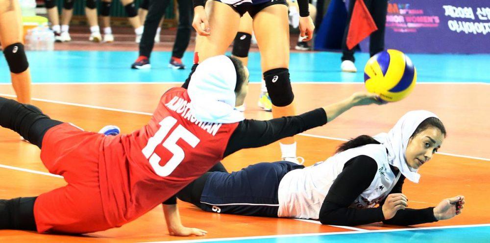 والیبال بانوان ایران و هنگ کنگ والیبال قهرمانی زنان آسیا 5 1000x497 گزارش تصویری | دیدار والیبال بانوان ایران و هنگ کنگ