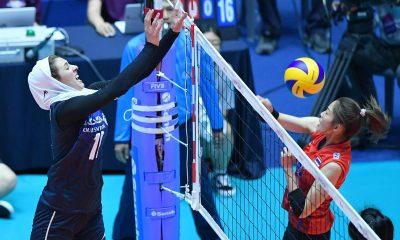 والیبال زنان آسیا ایران و تایلند 3 400x240 والیبال انتخابی المپیک | همگروهی دختران والیبال ایران با استرالیا، قزاقستان و تایلند