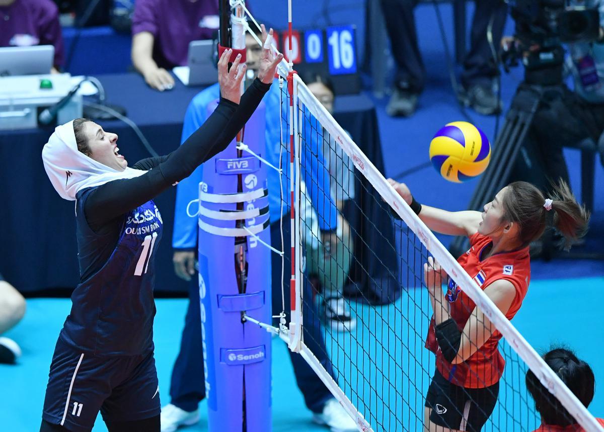 والیبال انتخابی المپیک | همگروهی دختران والیبال ایران با استرالیا، قزاقستان و تایلند