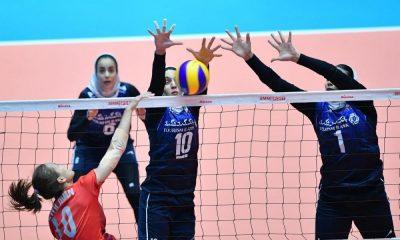 والیبال زنان ایران و تایلند 400x240 ایران صفر تایلند 3 | شکست دختران والیبالیست و پایان رویای حضور در نیمه نهایی