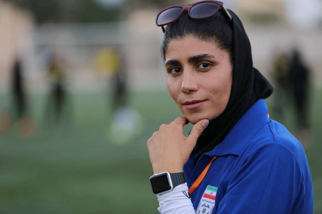 نظرات پروانه کران خسروی در راه اعزام دختران فوتبالیست زیر ۱۵ سال به تورنمنت کافا