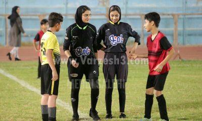 01423221 400x240 قضاوت داوران زن در فستیوال زیر 12 سال فوتبال پسران بوشهر| تصاویر
