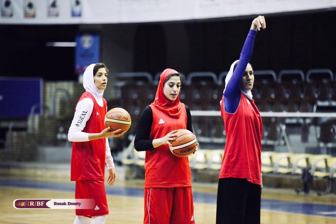 123464853 گزارش تصویری|تمرینات آماده سازی تیم ملی بسکتبال 5 نفره زنان