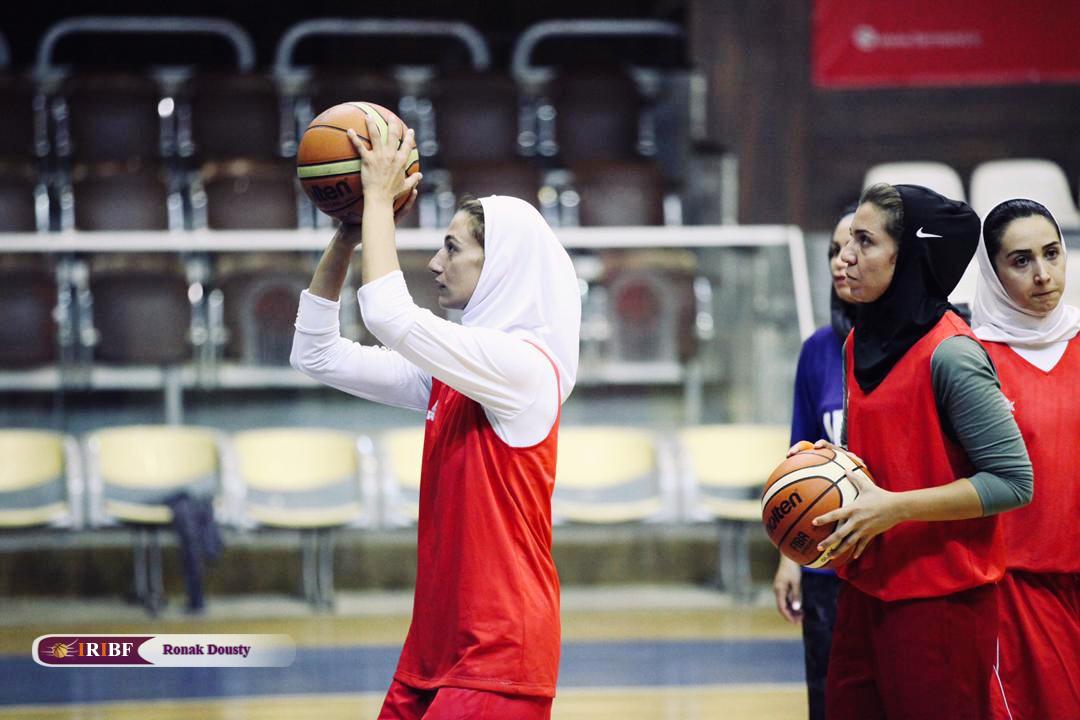 134876 گزارش تصویری|تمرینات آماده سازی تیم ملی بسکتبال 5 نفره زنان