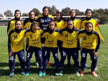 1566621654 avisa khuzestan soccer women 2 قهرمانی آویسا خوزستان در لیگ دسته یک فوتبال بانوان
