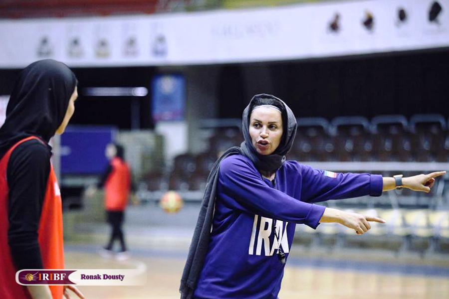 16561 گزارش تصویری|تمرینات آماده سازی تیم ملی بسکتبال 5 نفره زنان