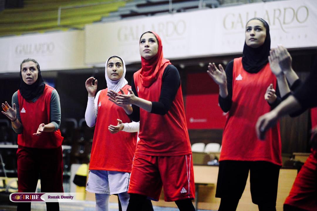 1967897 گزارش تصویری|تمرینات آماده سازی تیم ملی بسکتبال 5 نفره زنان