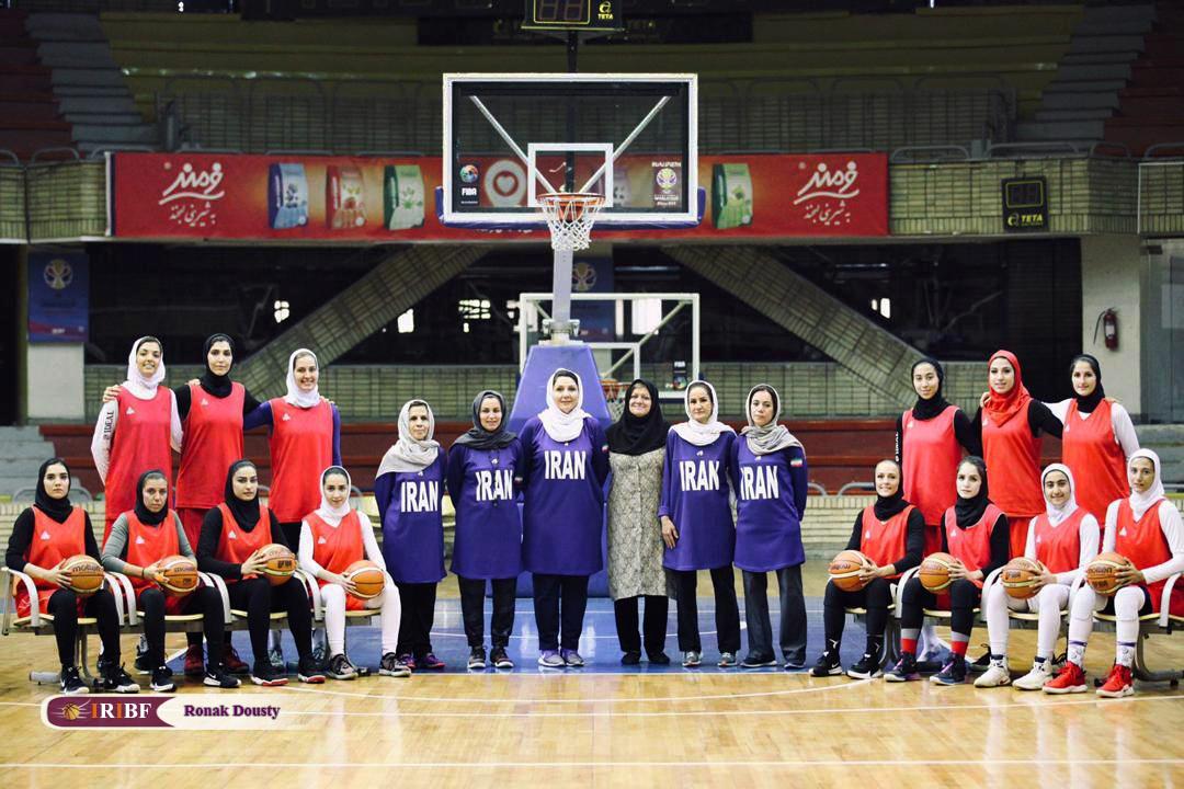 21312546 گزارش تصویری|تمرینات آماده سازی تیم ملی بسکتبال 5 نفره زنان