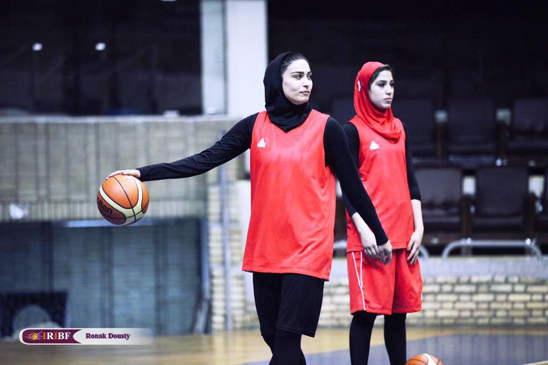 325 گزارش تصویری|تمرینات آماده سازی تیم ملی بسکتبال 5 نفره زنان