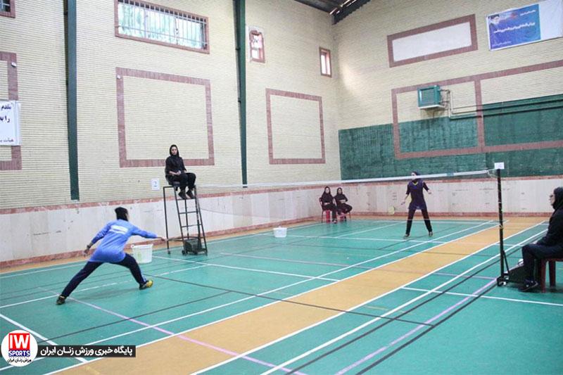 لیگ برتر بدمینتون بانوان | شهرداری شاهرود ۳ علم و ورزش گیلان ۲ ؛ گیلان به دوبل باخت
