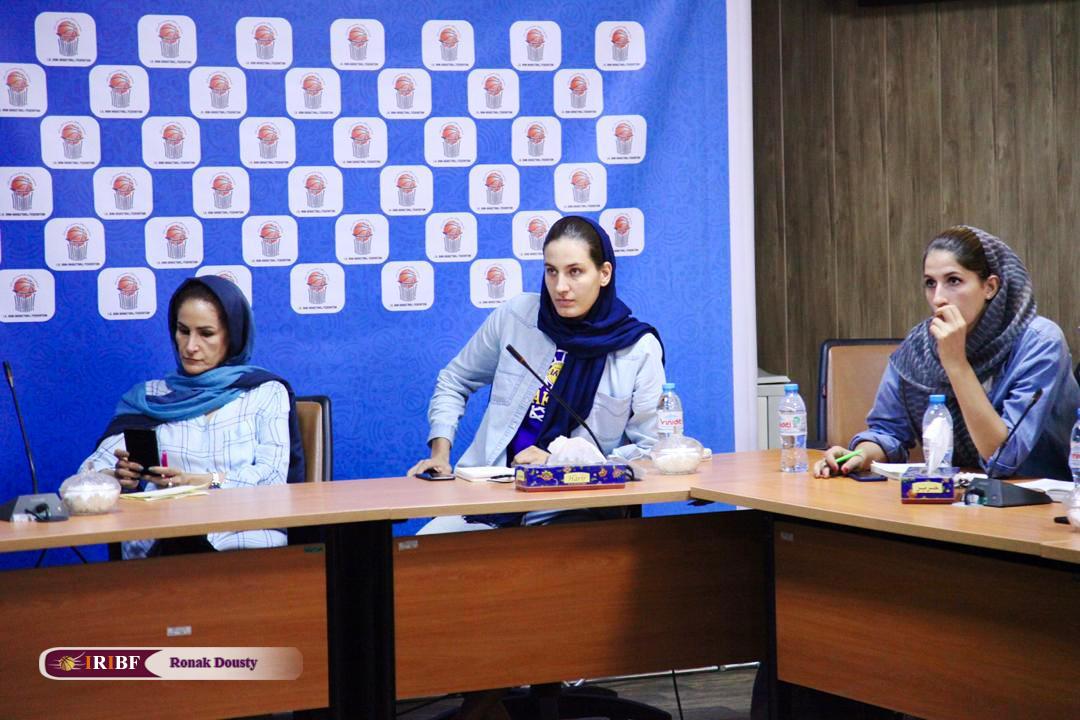5341238 گزارش تصویری|تمرینات آماده سازی تیم ملی بسکتبال 5 نفره زنان