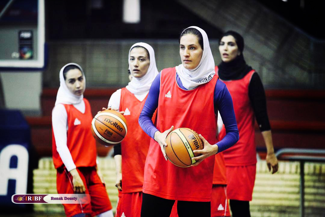 897854531 گزارش تصویری|تمرینات آماده سازی تیم ملی بسکتبال 5 نفره زنان
