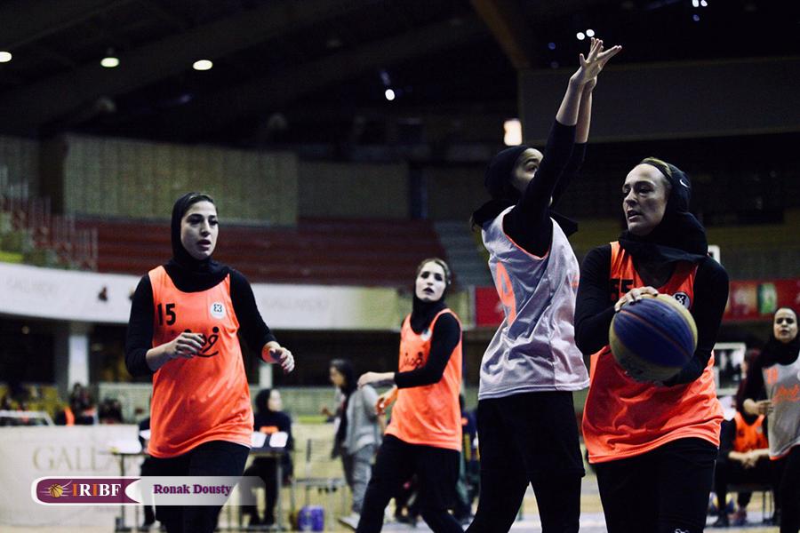 گزارش تصویری| رقابت های بسکتبال سه نفره بانوان در تالار بسکتبال آزادی