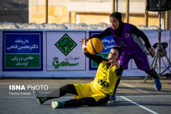 basketball womens championship30 600x400 گزارش تصویری | رقابتهای بسکتبال سه نفره زیر ۲۳ سال کشور در سنندج
