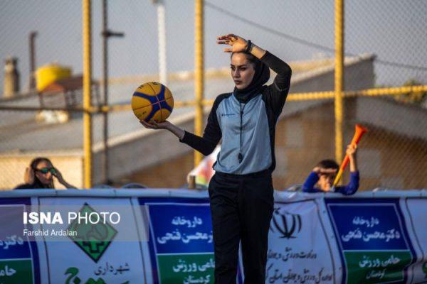 basketball womens championship31 600x400 گزارش تصویری | رقابتهای بسکتبال سه نفره زیر ۲۳ سال کشور در سنندج