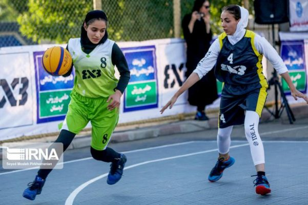 basketball womens championship98051201 601x400 گزارش تصویری | رقابتهای بسکتبال سه نفره زیر ۲۳ سال کشور در سنندج