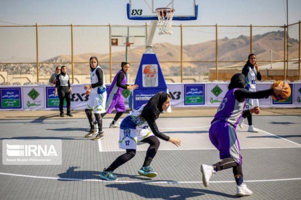basketball womens championship98051202 600x400 گزارش تصویری | رقابتهای بسکتبال سه نفره زیر ۲۳ سال کشور در سنندج