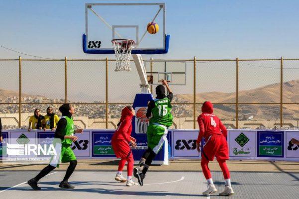 basketball womens championship98051203 601x400 گزارش تصویری | رقابتهای بسکتبال سه نفره زیر ۲۳ سال کشور در سنندج