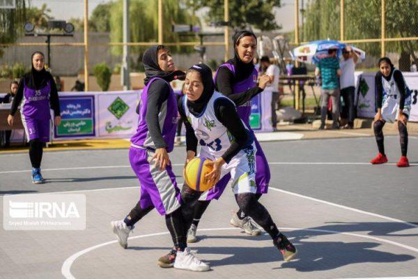 basketball womens championship98051204 600x400 گزارش تصویری | رقابتهای بسکتبال سه نفره زیر ۲۳ سال کشور در سنندج