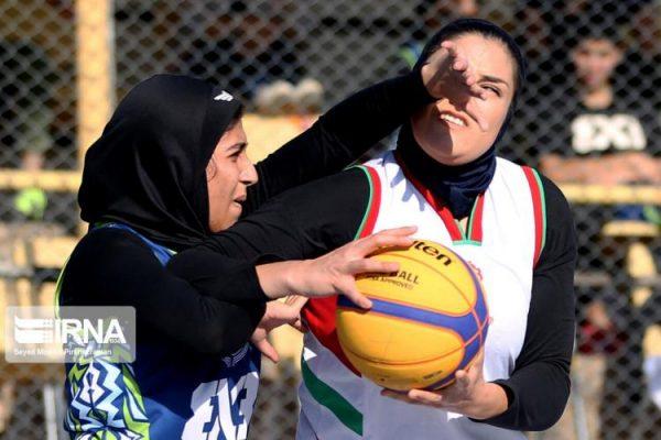 basketball womens championship98051208 600x400 گزارش تصویری | رقابتهای بسکتبال سه نفره زیر ۲۳ سال کشور در سنندج