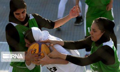 basketball womens championship98051210 400x240 گزارش تصویری | رقابتهای بسکتبال سه نفره زیر ۲۳ سال کشور در سنندج