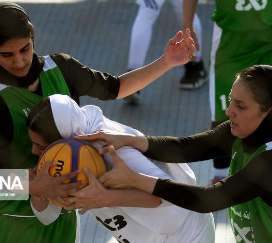 basketball womens championship98051210 560x500 گزارش تصویری   رقابتهای بسکتبال سه نفره زیر ۲۳ سال کشور در سنندج