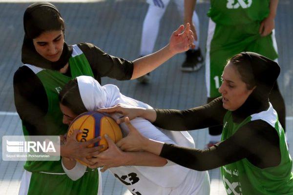 basketball womens championship98051210 600x400 گزارش تصویری | رقابتهای بسکتبال سه نفره زیر ۲۳ سال کشور در سنندج