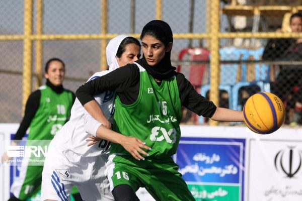 basketball womens championship98051211 600x400 گزارش تصویری | رقابتهای بسکتبال سه نفره زیر ۲۳ سال کشور در سنندج