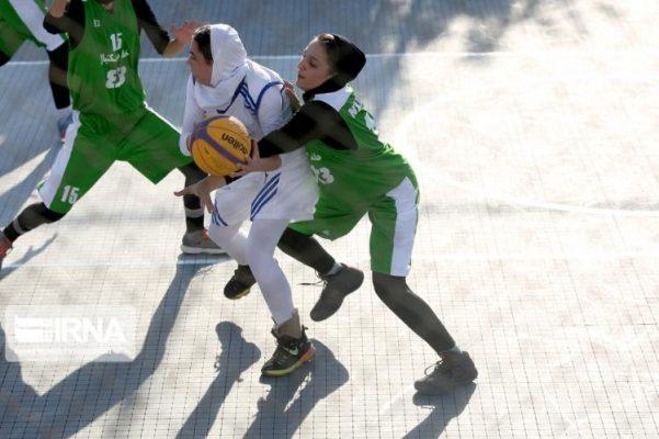 basketball womens championship98051212 601x400 گزارش تصویری | رقابتهای بسکتبال سه نفره زیر ۲۳ سال کشور در سنندج