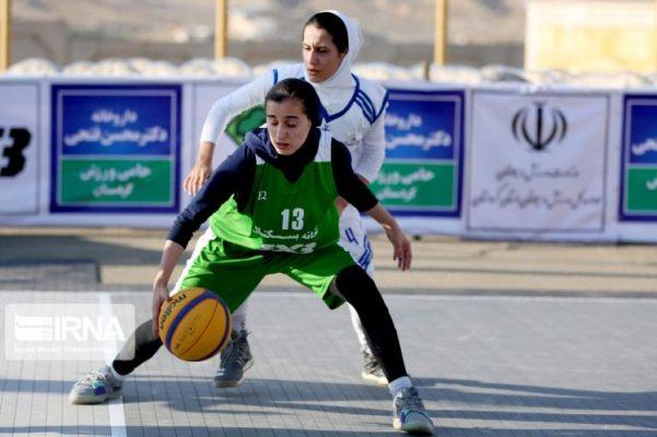 basketball womens championship98051213 601x400 گزارش تصویری | رقابتهای بسکتبال سه نفره زیر ۲۳ سال کشور در سنندج