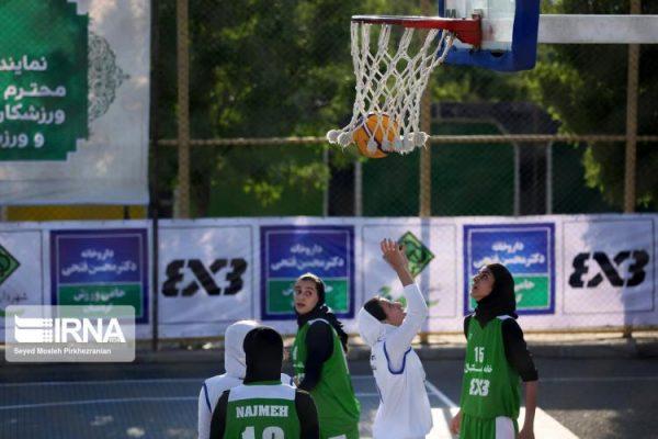 basketball womens championship98051215 600x400 گزارش تصویری | رقابتهای بسکتبال سه نفره زیر ۲۳ سال کشور در سنندج