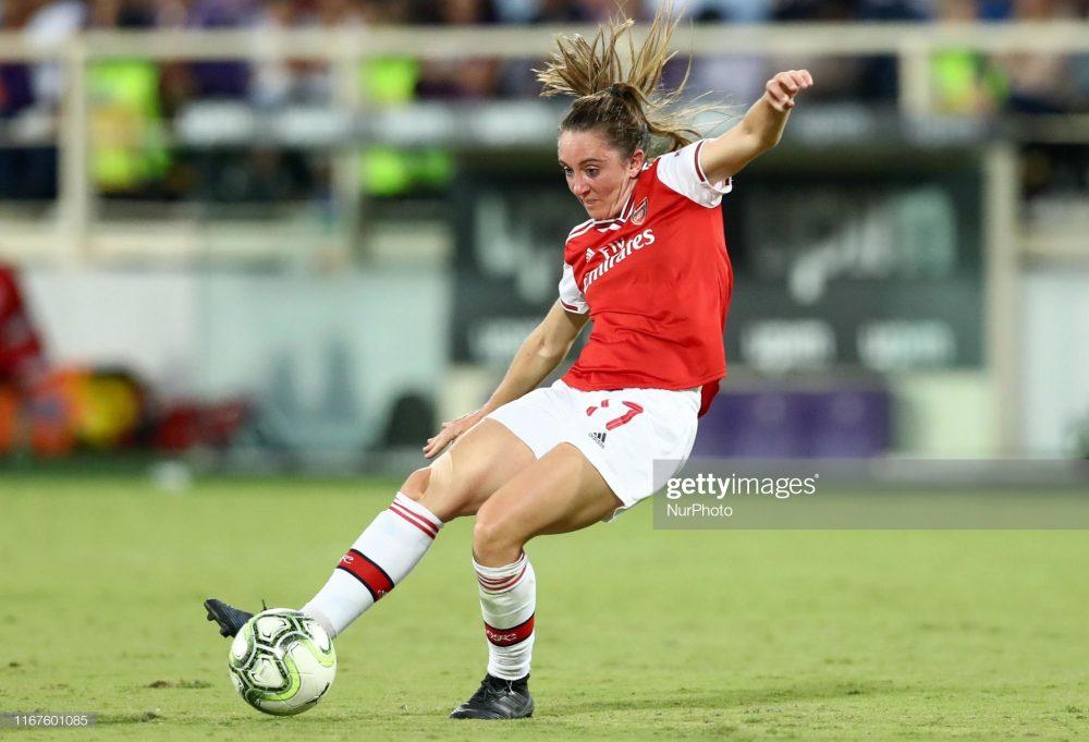 آرسنال فیورنتینا فوتبال زنان لیگ قهرمانان اروپا 6 1000x681 گزارش تصویری | دیدار تیمهای آرسنال و فیورنتینا در لیگ قهرمانان زنان