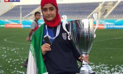 آریانا جوزایی 400x240 آریانا جوزایی ستاره 15 ساله جدید فوتبال ایران از شیراز : لذت پوشیدن لباس ملی قابل وصف نیست