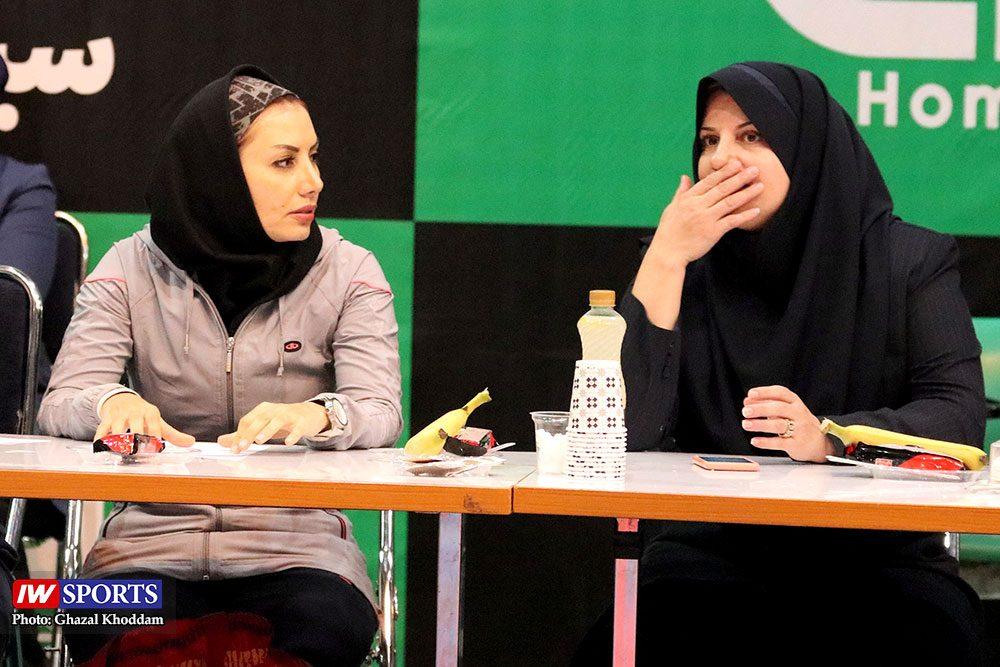 انتخابی تیم ملی تکواندوی بانوان زهرا سروی و مهرو کمرانی 1000x667 گزارش تصویری | انتخابی ورود به اردوی تیم ملی تکواندوی بانوان
