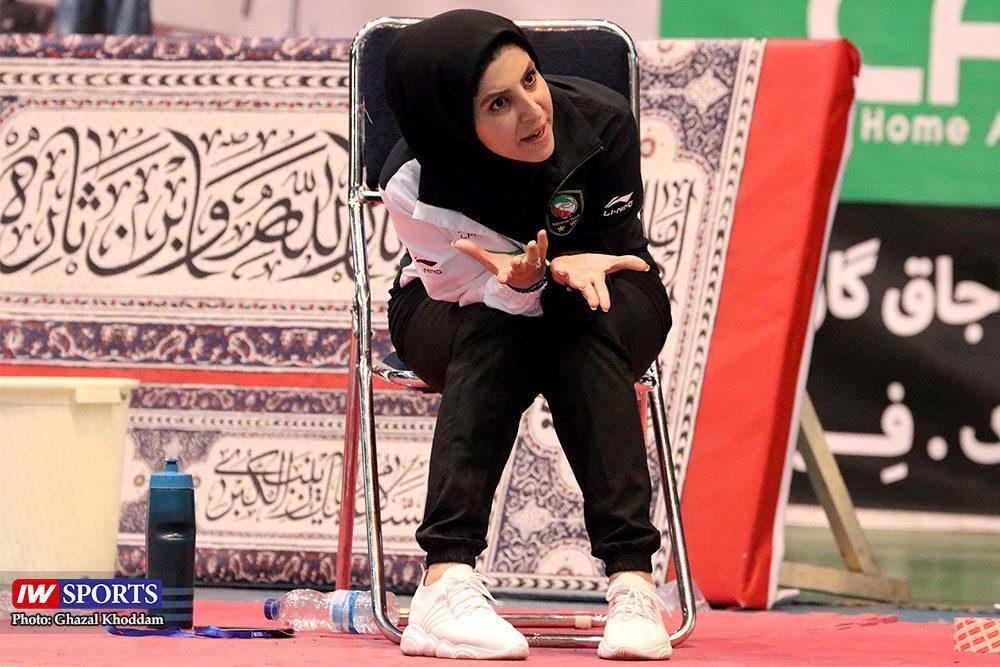 انتخابی تیم ملی تکواندوی بانوان محبوبه محمدنژاد 1000x667 گزارش تصویری | انتخابی ورود به اردوی تیم ملی تکواندوی بانوان