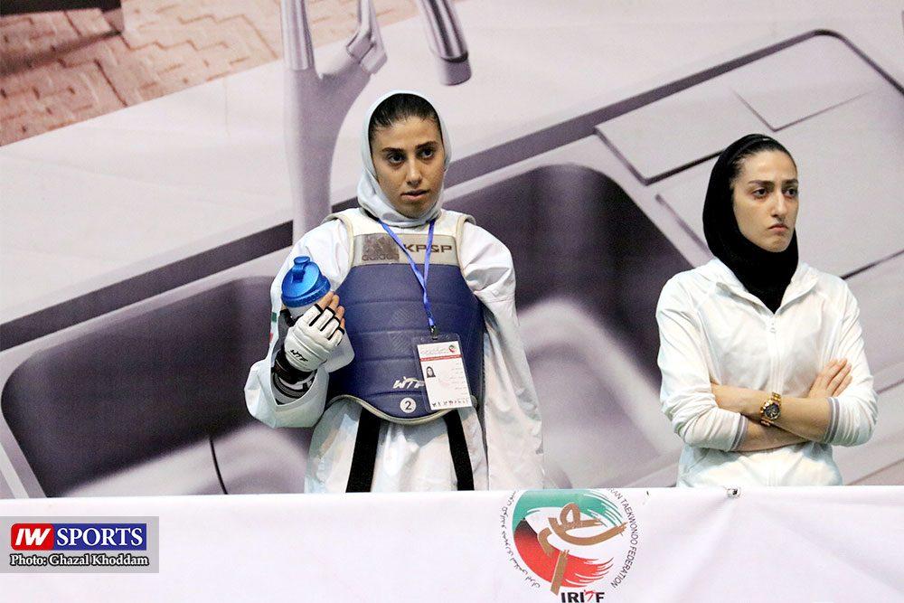 انتخابی تیم ملی تکواندوی بانوان ناهید کیانی 1000x667 گزارش تصویری | انتخابی ورود به اردوی تیم ملی تکواندوی بانوان