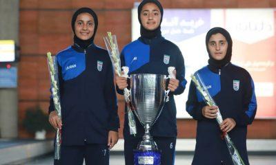بازگشت تیم ملی فوتبال دختران به ایران پس از قهرمانی دز تورنمنت کافا 8 400x240 گزارش تصویری | بازگشت تیم ملی فوتبال دختران پس از قهرمانی در کافا